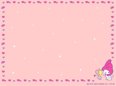 My Background My Melody Official Wallpaper 6