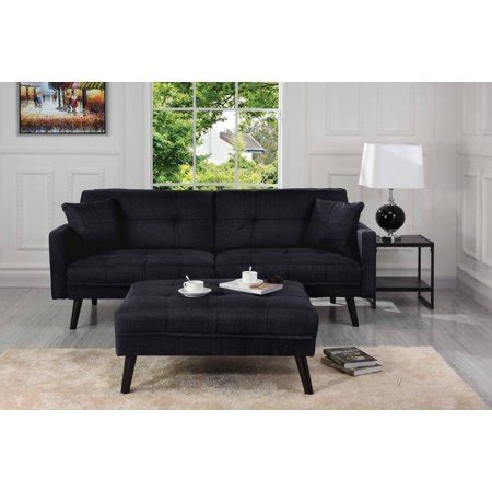 Mid Sleeper With Sofa Bed by Mid Century Modern Linen Fabric Futon Sofa Bed Living