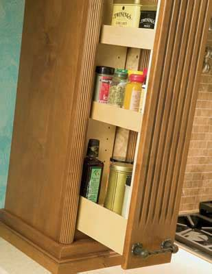 Pull Out Spice Rack Plans by Woodwork Pull Out Spice Rack Plans Pdf Plans