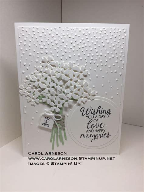 wedding cards handmade stampin  wedding