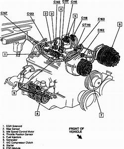 94 Chevy 1500 350 Engine Diagram