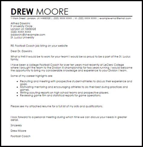 coaching resume cover letter 28 images baseball