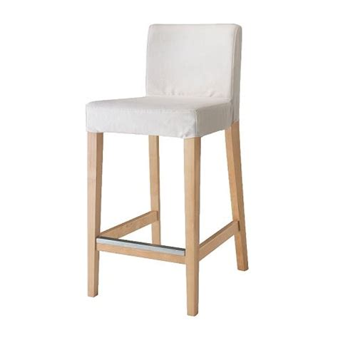 chaise de bar alinea henriksdal bar stool with backrest 63 cm ikea