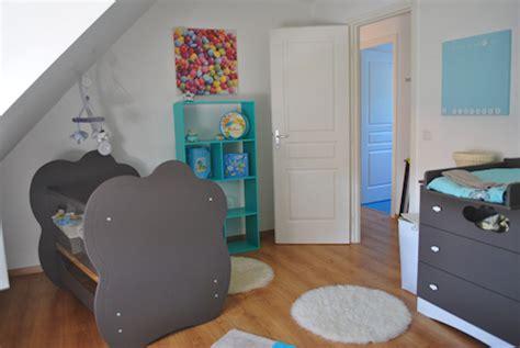 chambre bébé blanc et taupe deco chambre bebe bleu et taupe