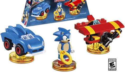 lego dimensions sonic  hedgehog level pack