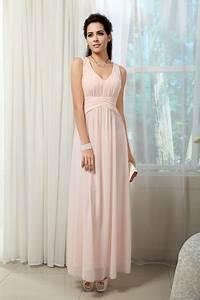 robe de soiree rose pale longue With robe rose pale longue