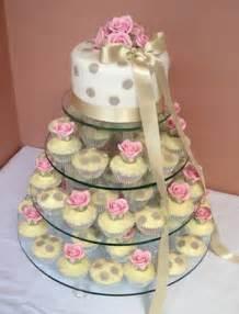 wedding cake and cupcakes cupcake wedding cake