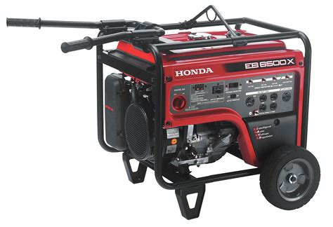 Honda Recoil Gasoline Portable Generator, 5500 Rated Watts