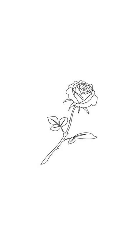 35 Cool Easy Whimsical Drawing Ideas | Tattoos, Rose drawing tattoo, Small tattoos