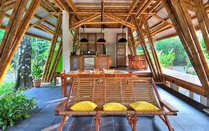 Bamboo Vacation Home Casa Atrevida  U2014 Guadua Bamboo