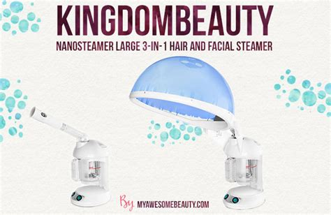 Kingdombeauty Nanosteamer Large 3-in-1 Hair And Facial