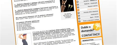 Pedana Vibrante A Cosa Serve by Pagina Interna A Cosa Serve La Pedana Vibrante E M M