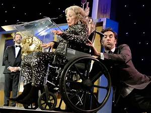 Sacha Baron Cohen knocks elderly woman offstage for ...