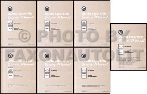 online car repair manuals free 2008 gmc sierra on board diagnostic system 2008 chevrolet silverado and gmc sierra repair shop manual original 4 volume set