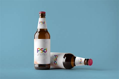 The best bottle mockups free download for your next project. Beer Bottle Mockup Free PSD | PSD Graphics