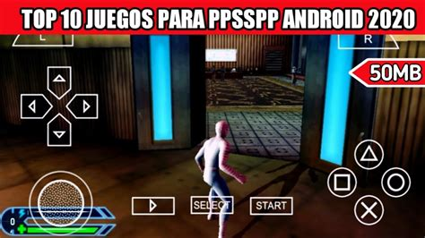 If you are running the psp rom files on android ppsspp emulator, you might consider searching youtube for best ppsspp emulator settings on android. Top 10 Mejores Juegos Menos de 50 Mb para PPSSPP ANDROID ...