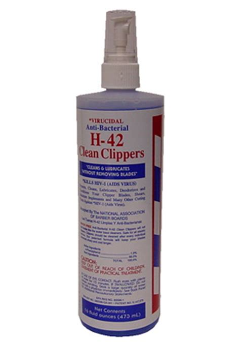 clipper cleaner oz spray