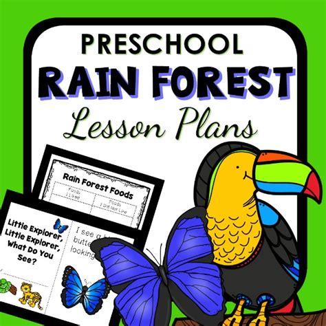 forest theme preschool classroom lesson plans 386 | Preschool Rain Forest Lesson Plans cover