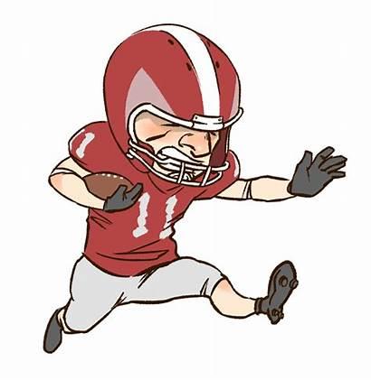 Football Funny Cartoon Clipart Clip Computer