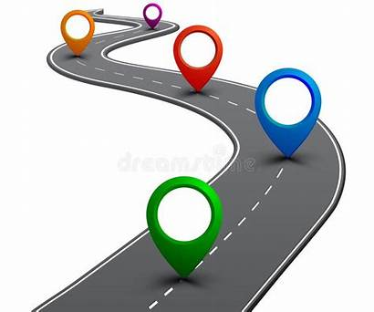 Road Roadmap Gps Navigation Highway Infographics Route