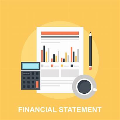 Statement Financial Vector Bank Statements Clip Illustrations