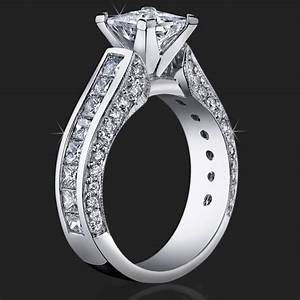 best selling tiffany style princess diamond engagement With top selling wedding rings