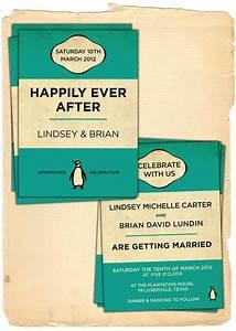 invitations ideas 802831 weddbook With penguin classic wedding invitations