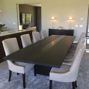 Handmade Modern Dining Table by Bedre Woodworking