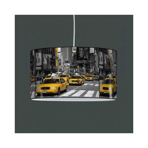Lampe Suspension Taxi Jaune New York