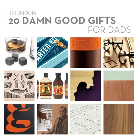 roundup 20 damn good gifts for dads curbly