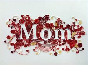 Quilling, Framed for Mom, Mothers Day, Handmade Paper ...