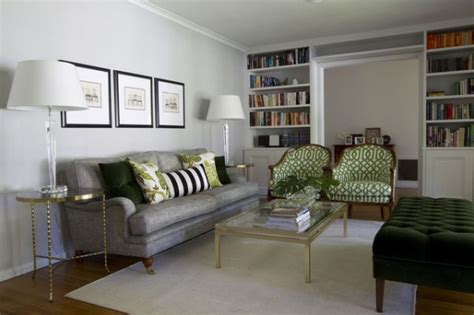 Grass Green And Grey Rooms