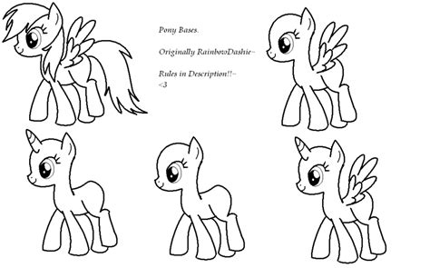 Mlp Base Coloring Pages