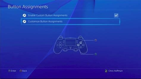how to remap buttons on your playstation 4 s controller