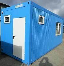 Container Gebraucht Kaufen Ebay : b rocontainer baucontainer wohncontainer container neu ~ Kayakingforconservation.com Haus und Dekorationen