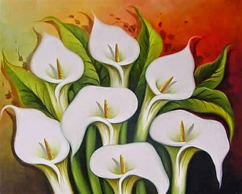 flores en la pintura xliv las calas de diego rivera