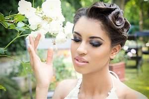 Maquillage De Mariage : maquillage de mariage sur peau noire ~ Melissatoandfro.com Idées de Décoration