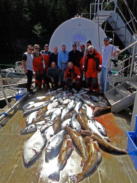 queen charlotte fishing gwaii haida salmon lodge cain