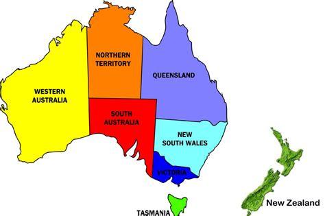 map  australia   zealand world map distance