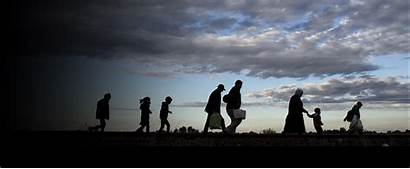Walking Refugees Rights Human Solutions Homepage