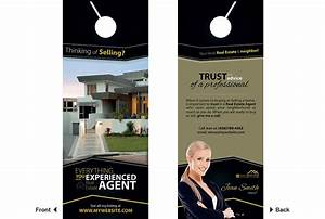 Consulting Services Door Hanger Template  Real Estate Door Hangers Rsd