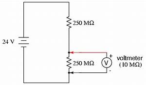 voltmeter impact on measured circuit dc metering circuits With measure current for each of the three resistors comparing with the