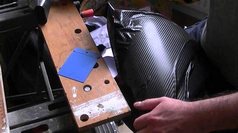 folieren selber machen carbon optik 3d folie selbst kleben motorrad und auto folie kleben