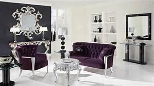 Deco Baroque Moderne : le miroir baroque est un joli accent d co ~ Teatrodelosmanantiales.com Idées de Décoration