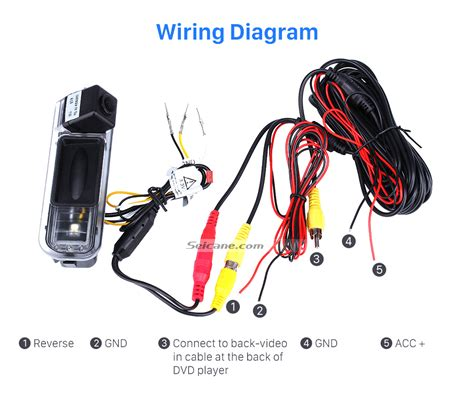 Power Ford Focu Backup Wiring by Hd Sony Ccd 600 Tv Lines Wired Car Parking Backup