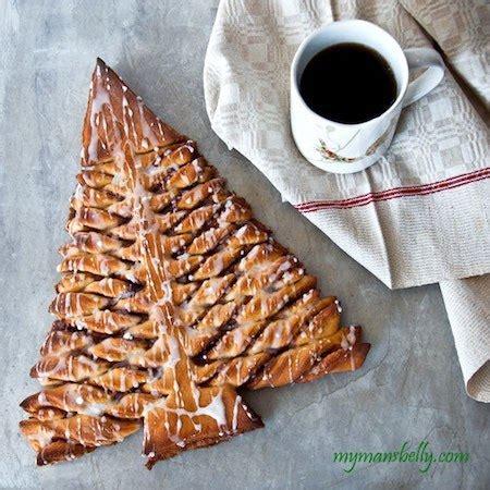 christmas tree cinnamon roll edible crafts