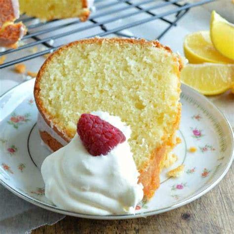 lemon pound cake recipe lemon yogurt pound cake sugar dish me