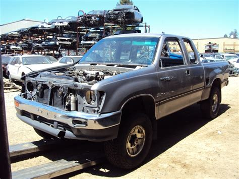 Toyota T100 Parts by 1996 Toyota T100 Xtra Cab 3 4l Mt 4x4 Color Silver Stk