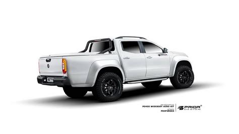 First Mercedes-benz X-class Widebody Kit Comes From Prior