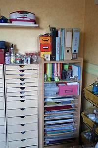 Rangement Papier Administratif : meuble pour ranger mes papiers photo de scraproom scrapamine ~ Teatrodelosmanantiales.com Idées de Décoration